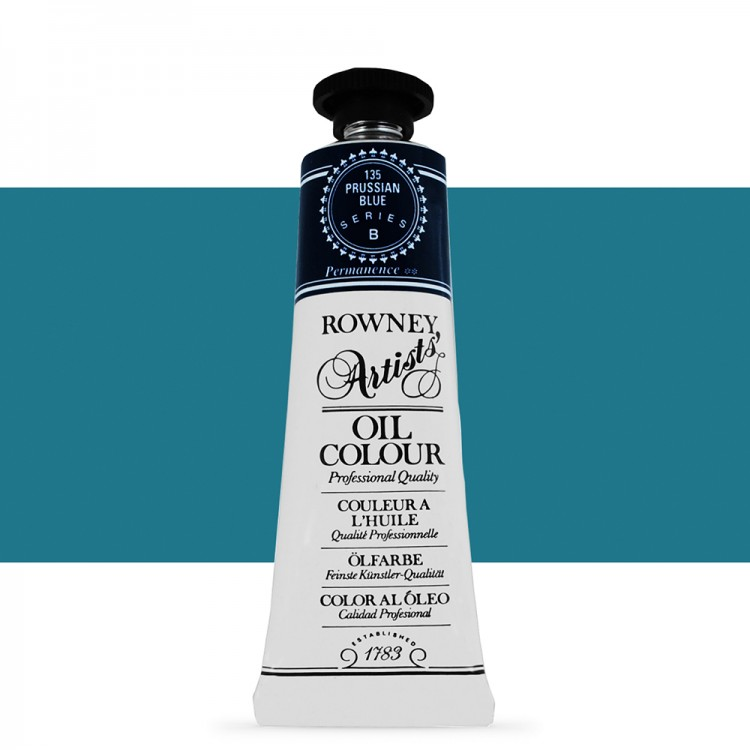 Daler Rowney : Artists' Oil Paint : 38ml : Prussian Blue