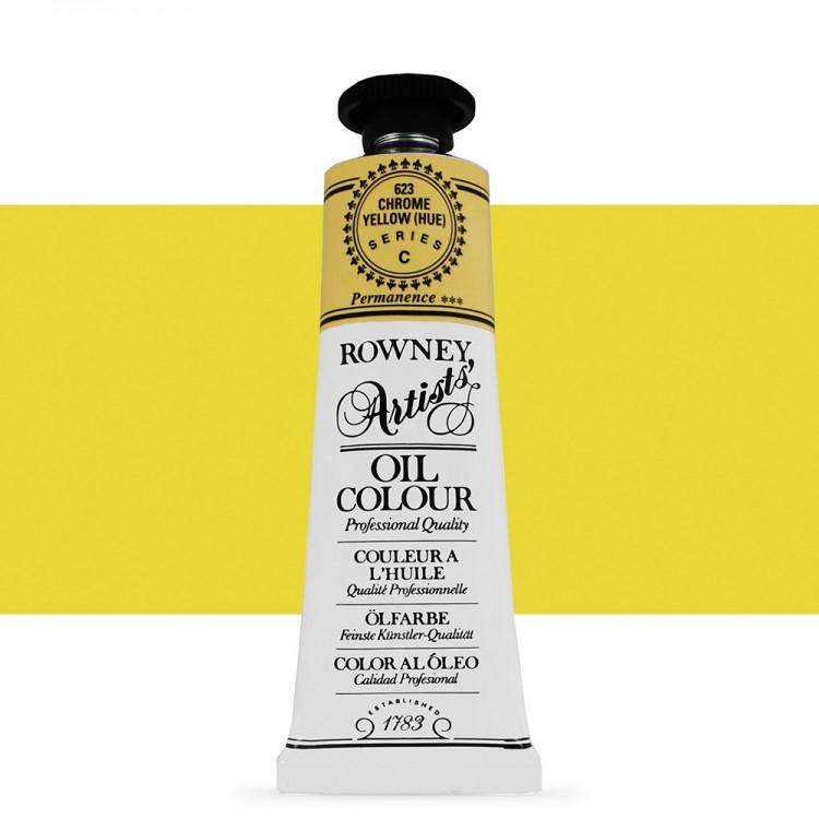 Daler Rowney : Artists' Oil Paint : 38ml : Chrome Yellow Hue