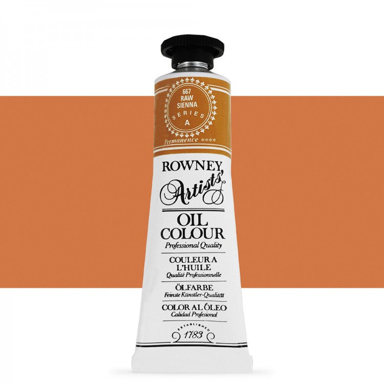 Daler Rowney Artists Oil : 38ml tube RAW SIENNA