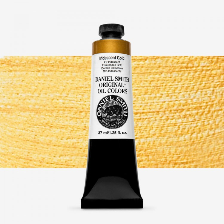 Daniel Smith : Original Oil Paint : 37ml : Iridescent Gold