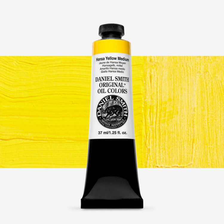 Daniel Smith : Original Oil Paint : 37ml : Hansa Yellow Medium