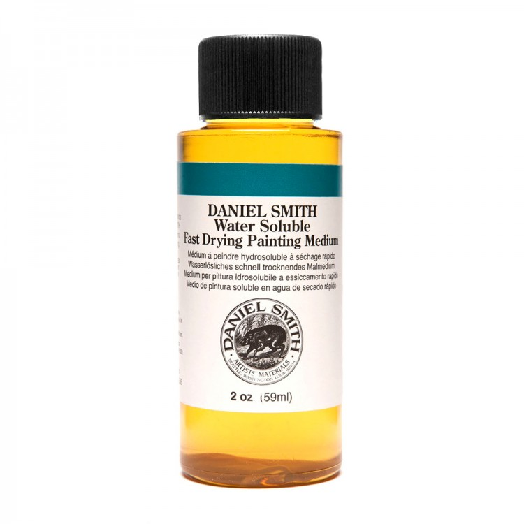 Daniel Smith : Water Soluble : Fast Drying Painting Medium : 59ml