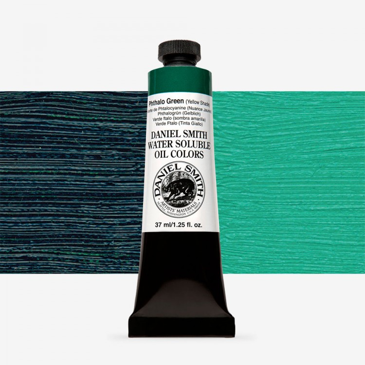 Daniel Smith : Water Soluble Oil Paint : 37ml : Phthalo Green Yellow Shade