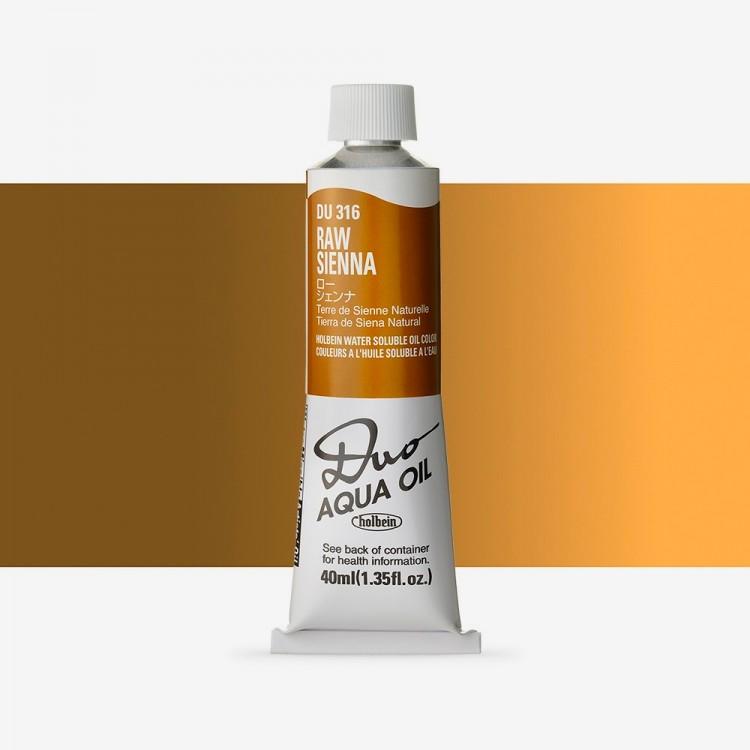 Holbein Duo-Aqua : Raw Sienna : 40ml tube