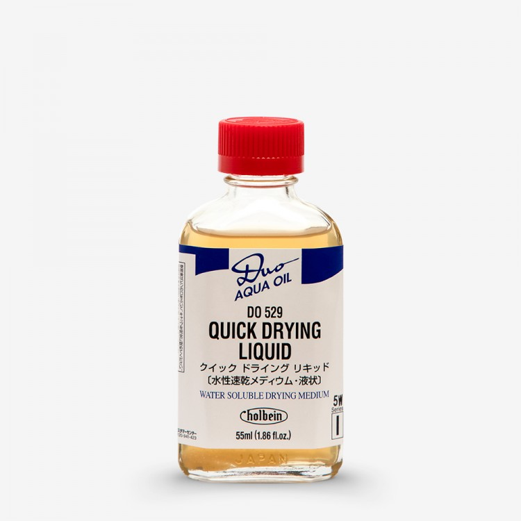 Holbein Duo-Aqua : Quick Drying Liquid 55ml bottle