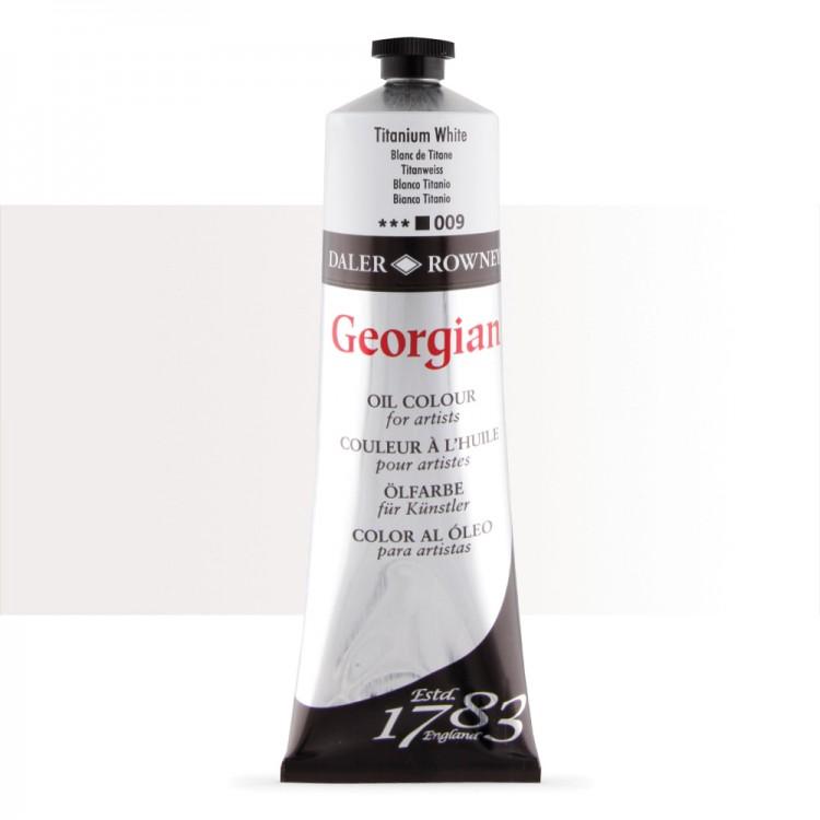 Daler Rowney : Georgian Oil Paint : 225ml : Titanium White