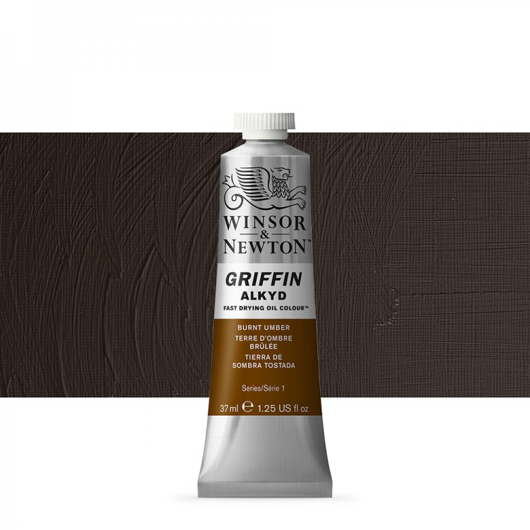 Griffin Alkyd Oil Paint : 37ml : Burnt Umber