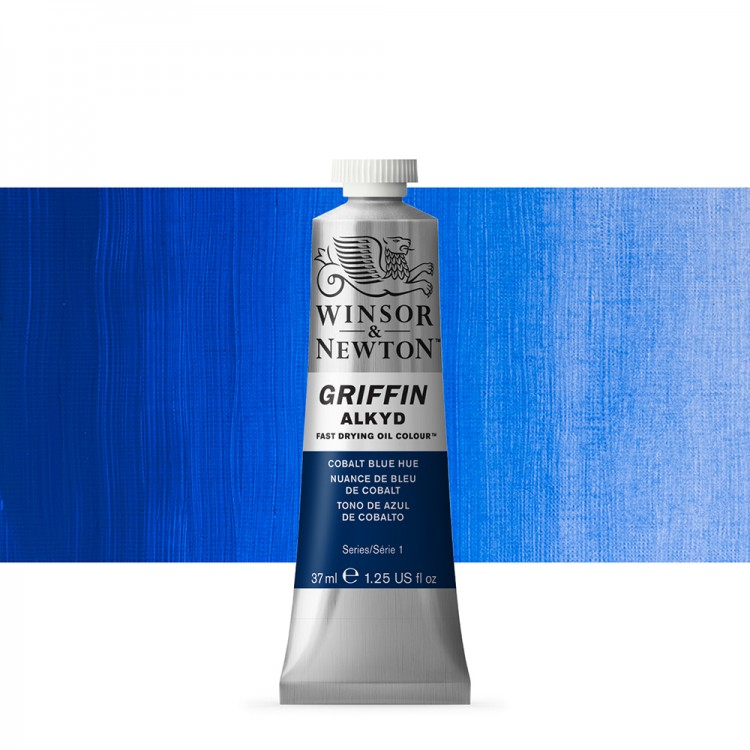 Griffin Alkyd Oil Paint : 37ml : Cobalt Blue Hue
