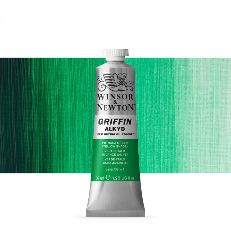 Griffin Alkyd Oil Paint : 37ml : Phthalo Green Yellow Shade