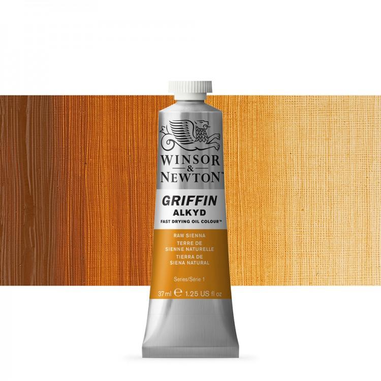 Griffin Alkyd Oil Paint : 37ml : Raw Sienna