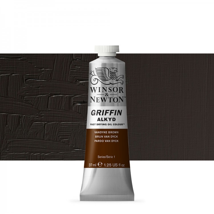 Griffin Alkyd Oil Paint : 37ml : Vandyke Brown