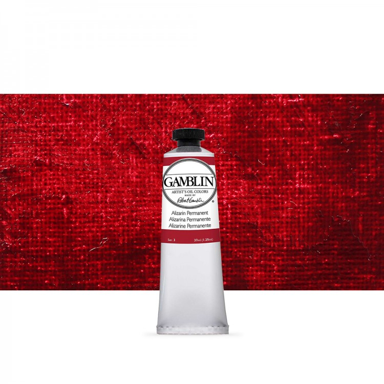 Gamblin : Artist Oil Paint : 37ml : Alizarin Permanent
