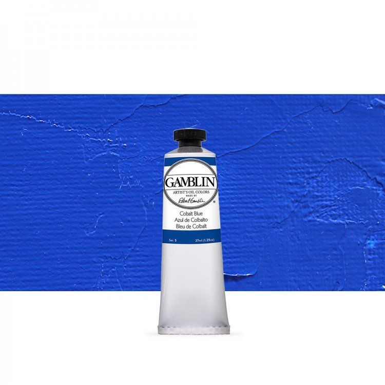 Gamblin : Artist Oil Paint : 37ml : Cobalt Blue
