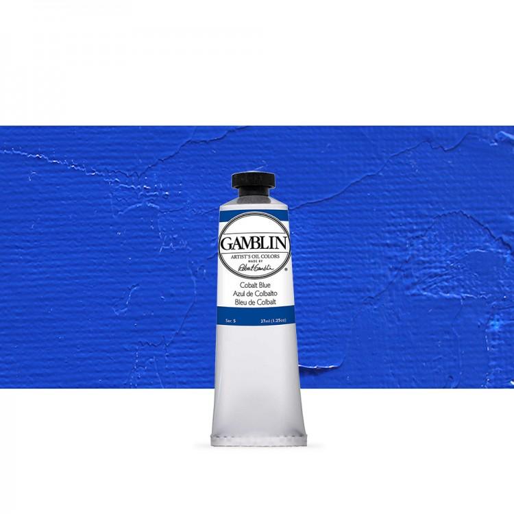 Gamblin : Artist Oil Paint : 37ml : Cobalt Blue