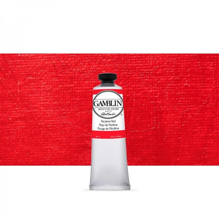 Gamblin : Artist Oil Paint : 37ml : Perylene Red
