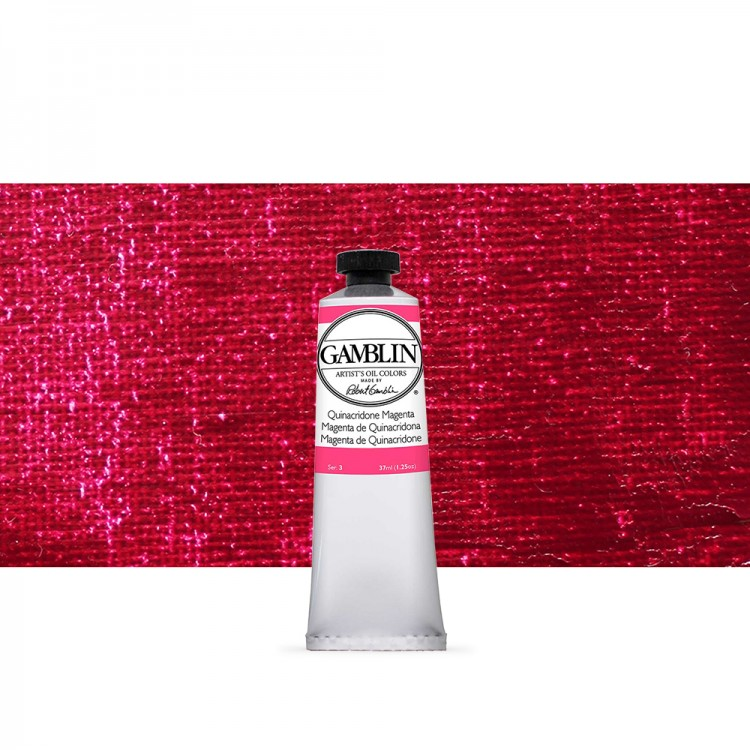 Gamblin : Artist Oil Paint 37ml : Quinacridone Magenta