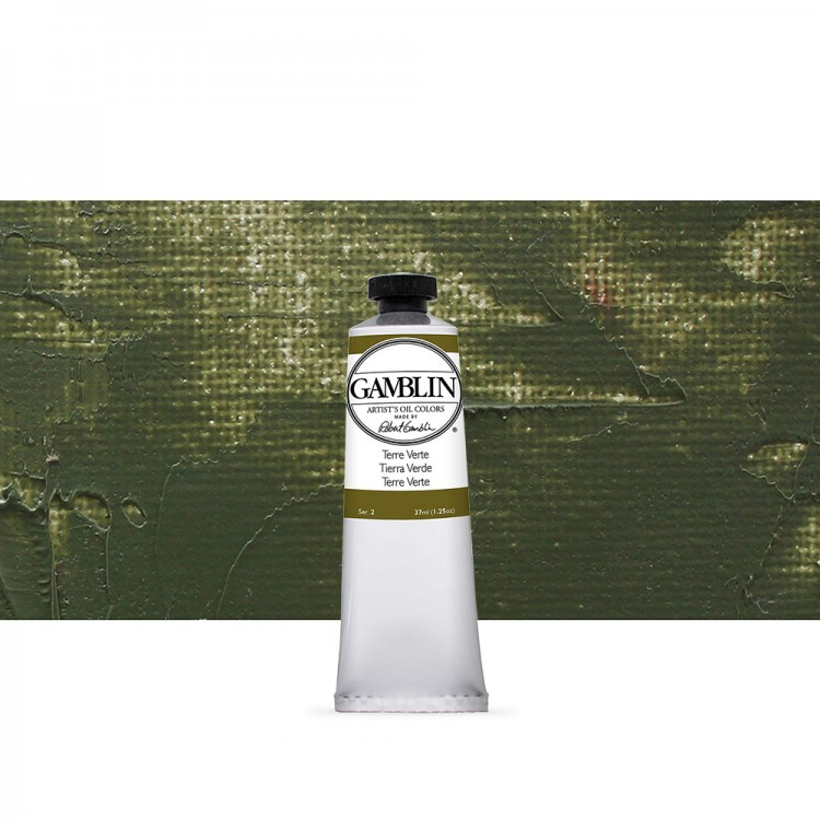 Gamblin : Artist Oil Paint 37ml : Terre Verte