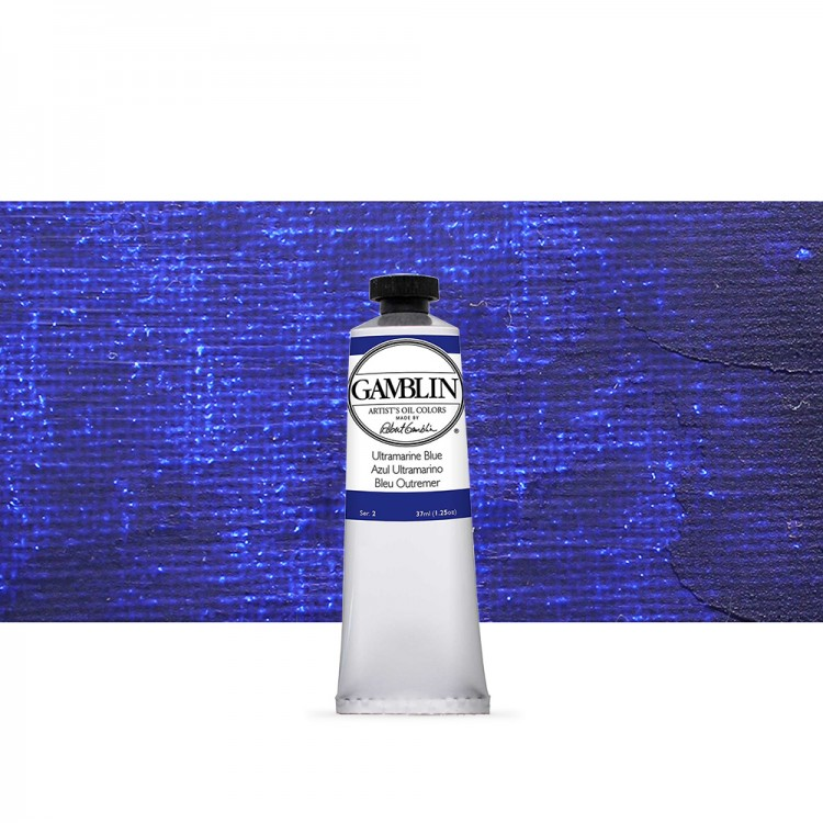 Gamblin : Artist Oil Paint : 37ml : Ultramarine Blue