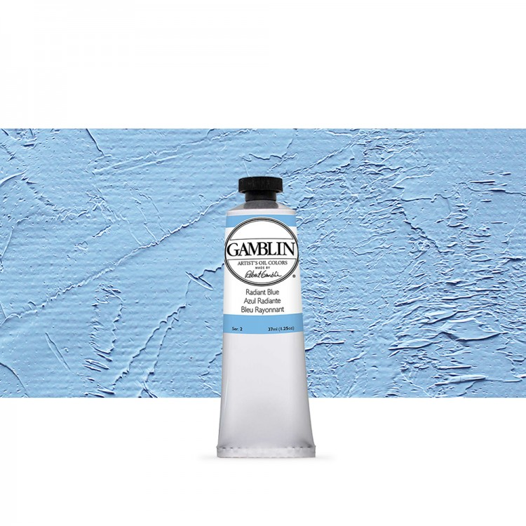 Gamblin : Artist Oil Paint : 37ml : Radiant Blue