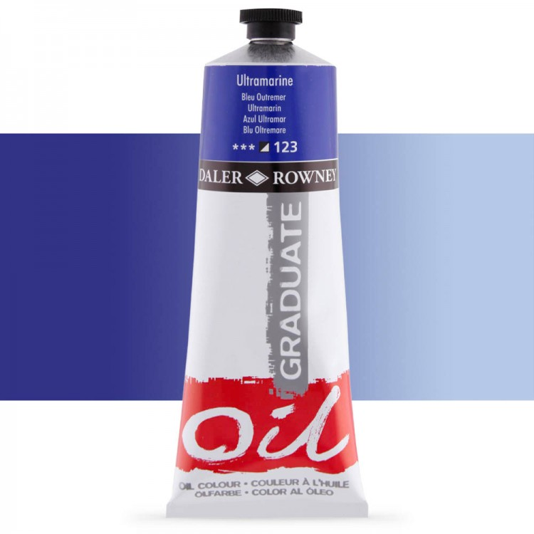Daler Rowney : Graduate Oil Paint : 200ml : Ultramarine