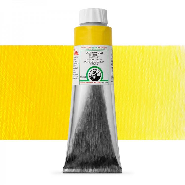 Old Holland : Classic Oil : 225ml Cadmium Yellow Lemon
