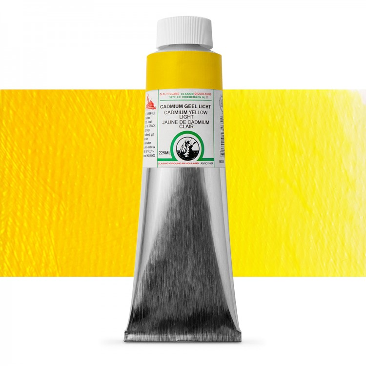 Old Holland : Classic Oil : 225ml Cadmium Yellow Light