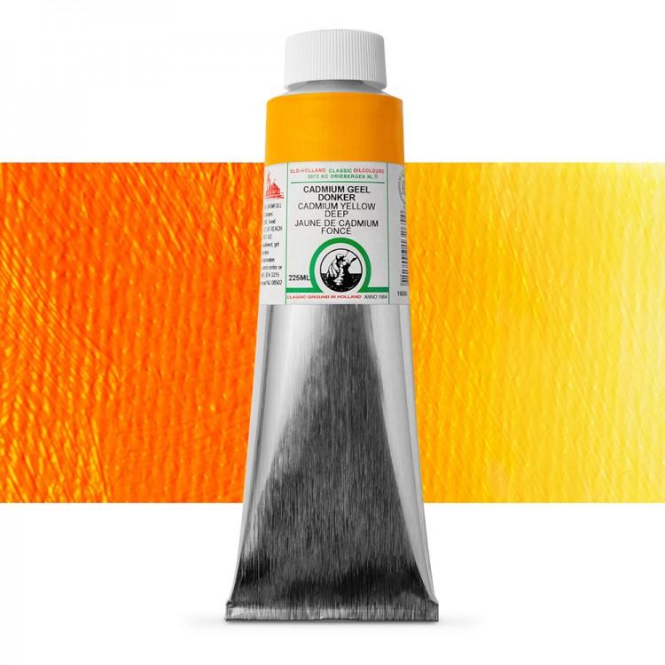 Old Holland : Classic Oil : 225ml Cadmium Yellow Deep