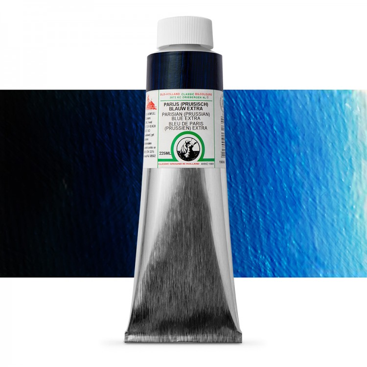 Old Holland : Classic Oil : 225ml Parisian (Prussian) Blue Extra