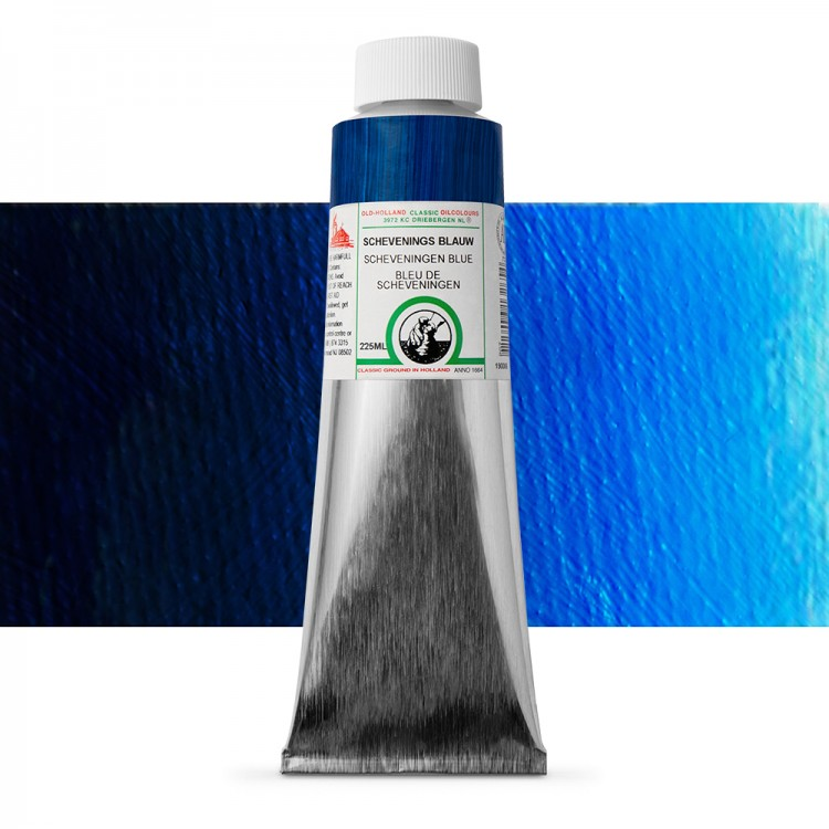 Old Holland : Classic Oil : 225ml Scheveningen Blue