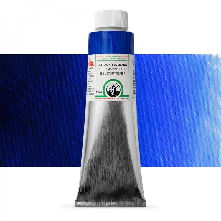 Old Holland : Classic Oil : 225ml Ultramarine Blue