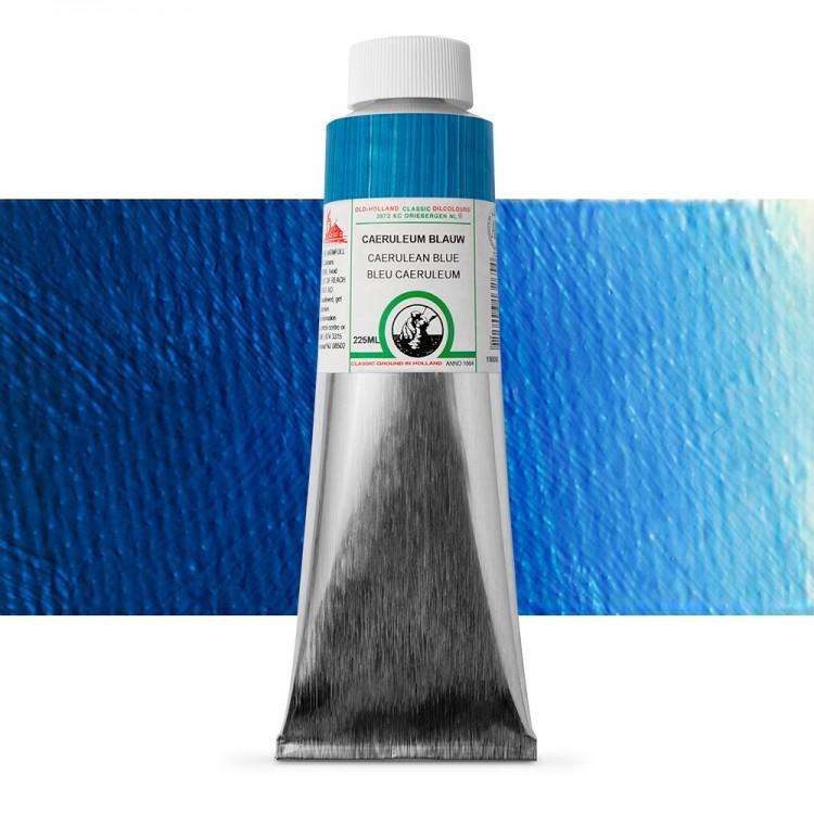 Old Holland : Classic Oil : 225ml Cerulean Blue