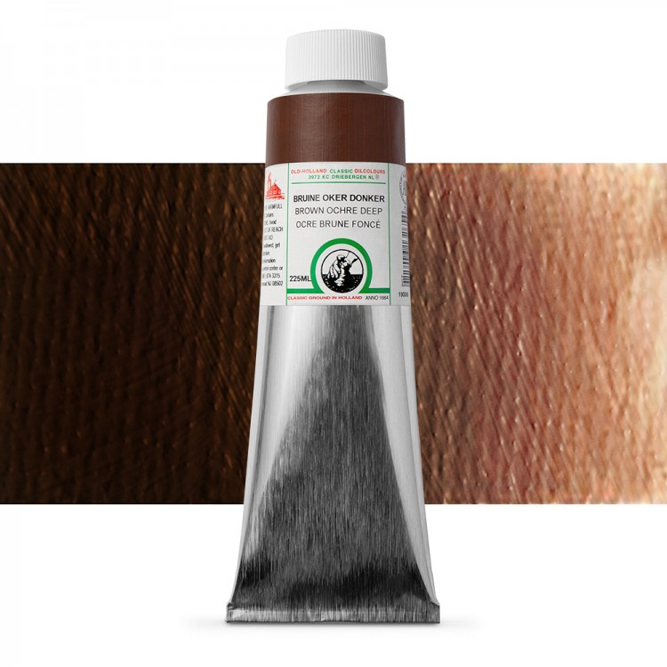 Old Holland : Classic Oil : 225ml Brown Ochre Deep
