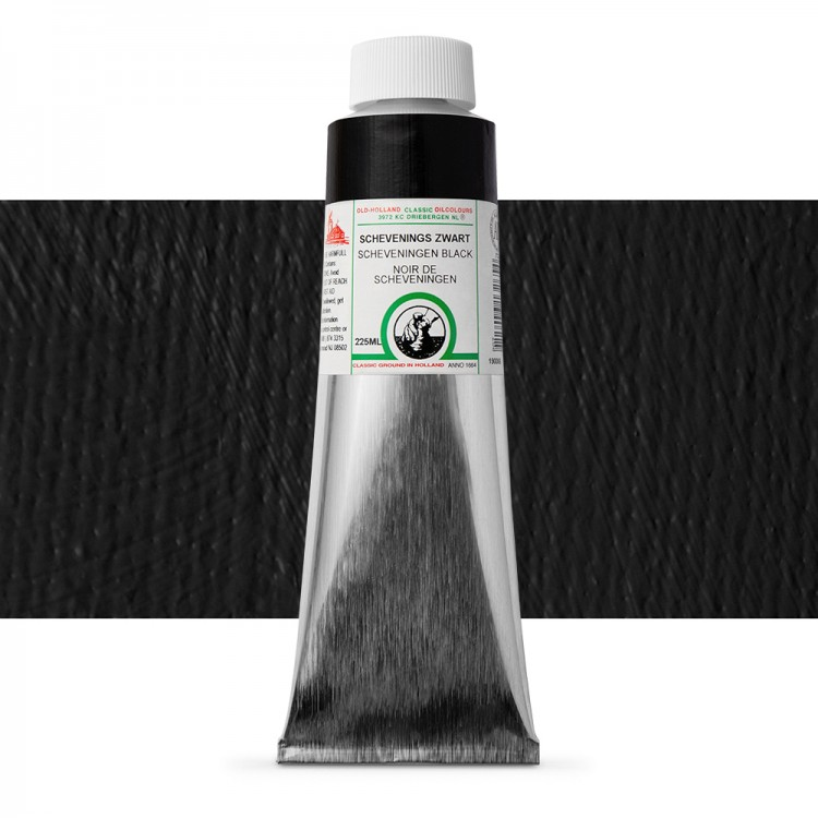 Old Holland : Classic Oil : 225ml Scheveningen Intense Black