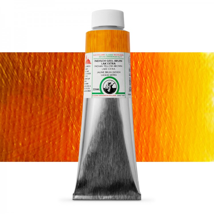 Old Holland : Classic Oil : 225ml Indian Yellow-Brown Lake