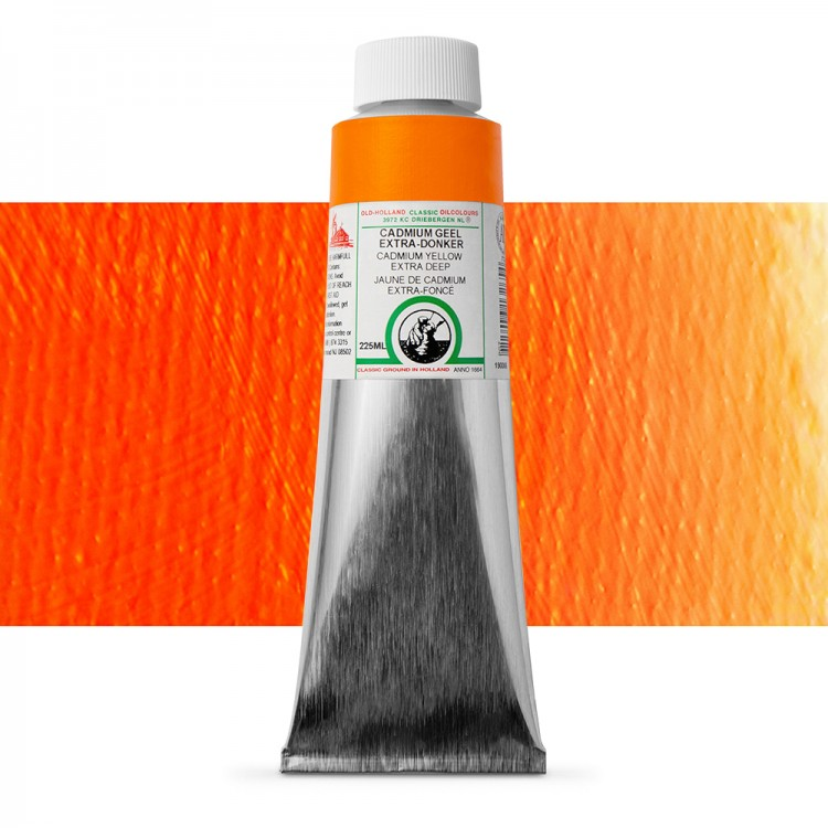 Old Holland : Classic Oil : 225ml Cadmium Yellow Ext Deep