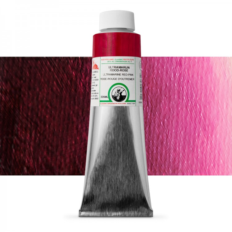Old Holland : Classic Oil : 225ml Ultra Marine Red-Pink