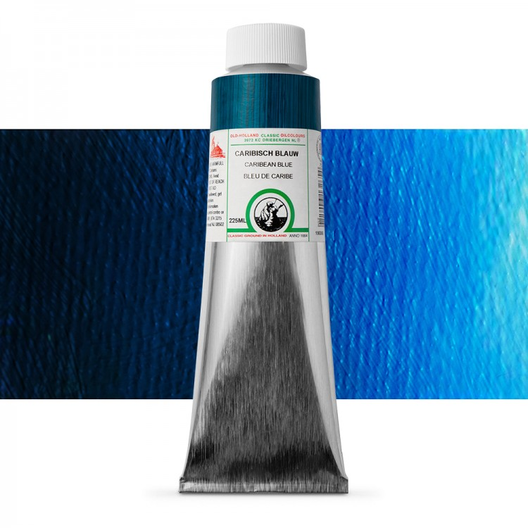 Old Holland : Classic Oil : 225ml Caribbean Blue
