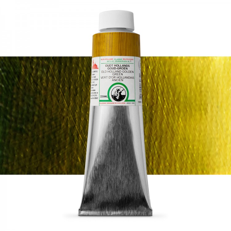Old Holland : Classic Oil : 225ml Golden Green