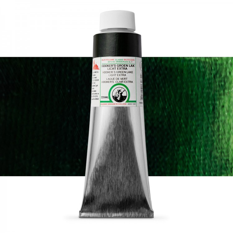 Old Holland : Classic Oil : 225ml Hookers Green Lake Light