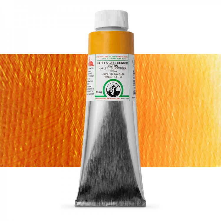Old Holland : Classic Oil Paint : 225ml : Naples Yellow Deep Extra