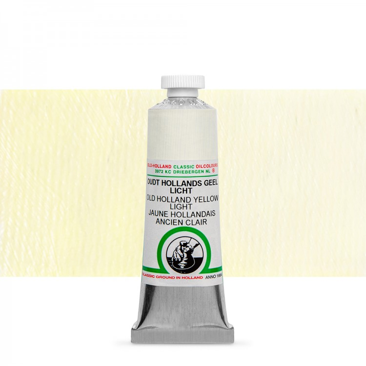 Old Holland : Classic Oil : 40ml Yellow Light