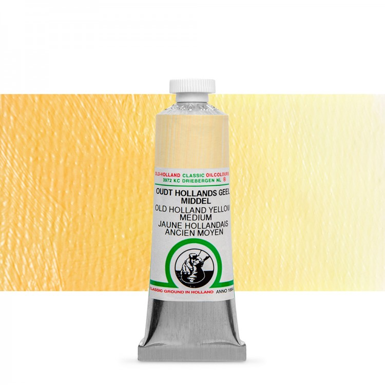Old Holland : Classic Oil : 40ml Yellow Med
