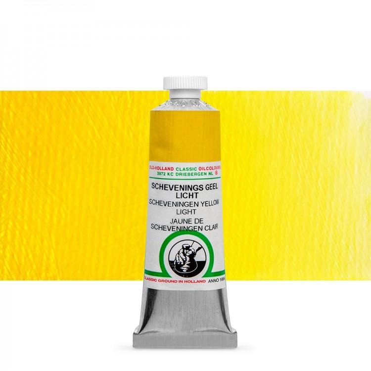 Old Holland : Classic Oil : 40ml Scheveningen Yellow Light
