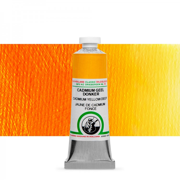 Old Holland : Classic Oil : 40ml Cadmium Yellow Deep