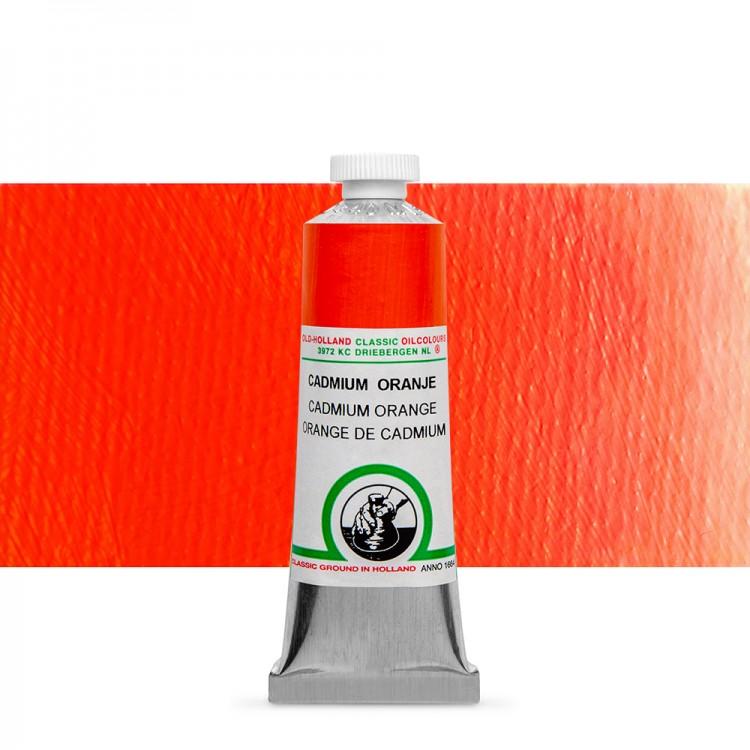 Old Holland : Classic Oil : 40ml Cadmium Orange