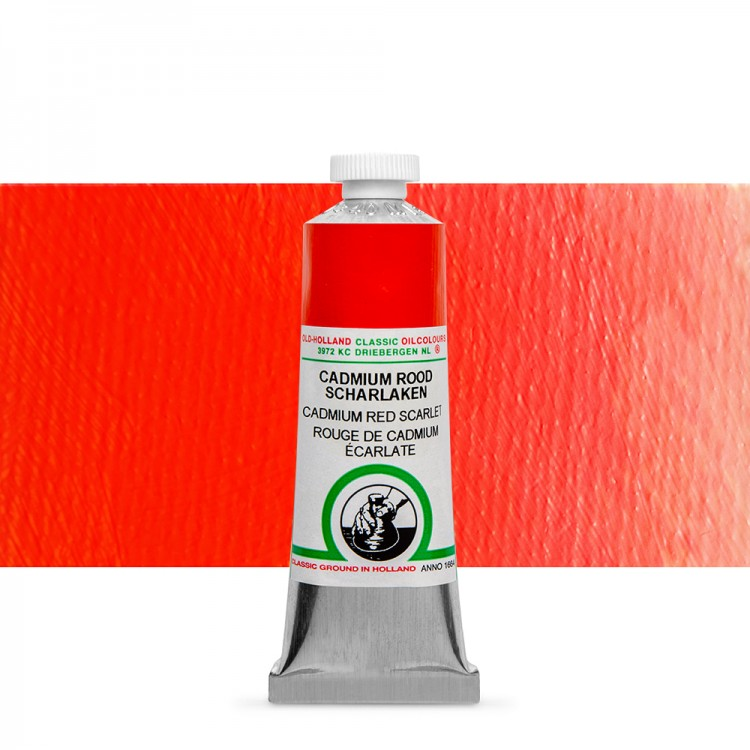 Old Holland : Classic Oil Paint : 40ml : Cadmium Red Scarlet