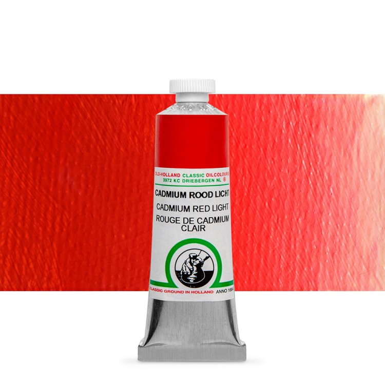 Old Holland : Classic Oil : 40ml Cadmium Red Light