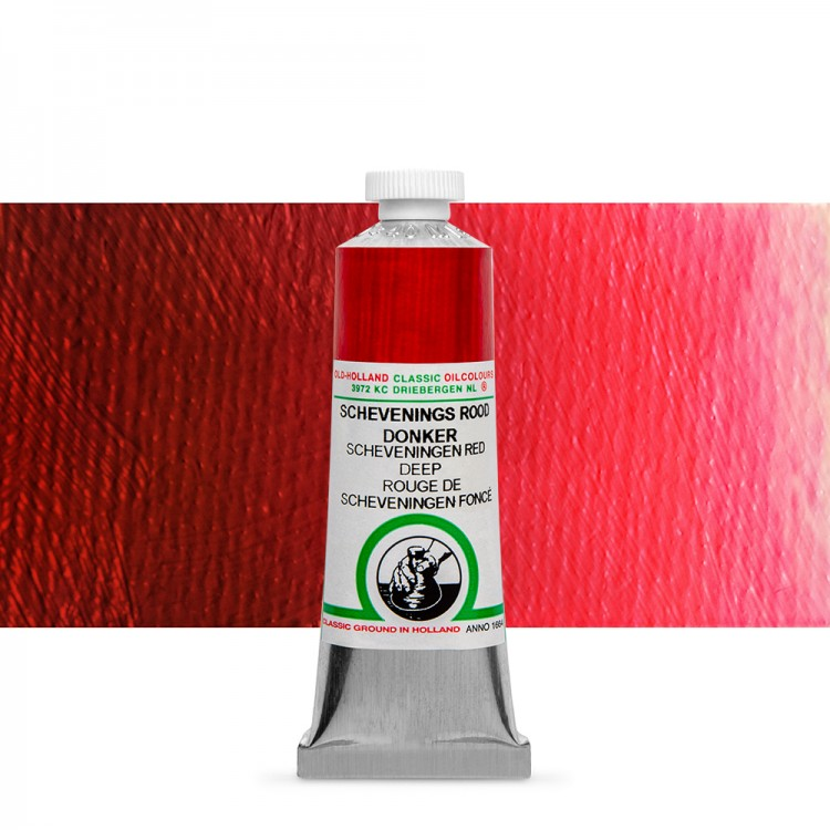 Old Holland : Classic Oil : 40ml Scheveningen Red Deep