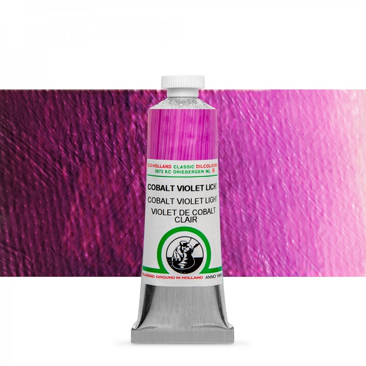 Old Holland : Classic Oil : 40ml Cobalt Violet Light