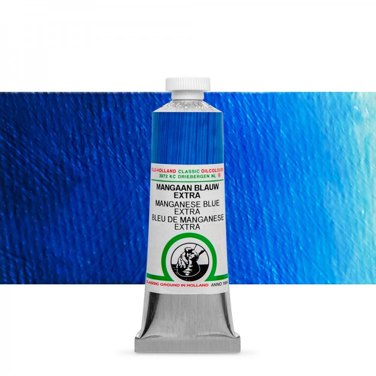 Old Holland : Classic Oil Paint : 40ml : Manganese Blue Extra